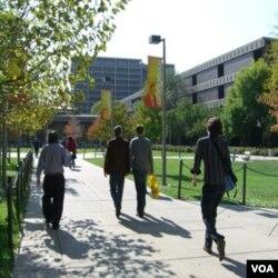 University of Illinois at Chichago, salah satu kampus lain di Amerika yang mengadakan fast-a-thon.