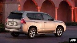 Toyota loan báo thu hồi 9.400 xe SUV Lexus GX 460 đời 2010