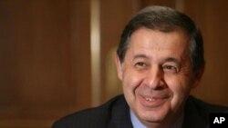 Former Commerce Minister Rachid Mohamed Rachid of Egypt (file photo)