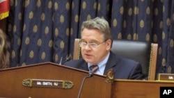 眾議院外交關係委員會的史密斯議員(資料圖片)