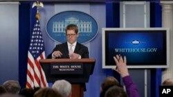 Beyaz Saray sözcüsü Jay Carney