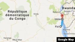 L'attaque a eu lieu entre Fizi et Uvira, en RDC, le 13 novembre 2016.
