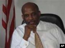 Liberian opposition leader Charles Brumskine