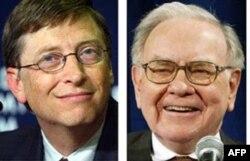 Milliarder amerikaliklar Bill Geyts va Vorren Baffet ko'proq soliq to'lashga tayyor