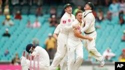 آسٹریلیا کی دوسرے ٹیسٹ میچ میں فتح