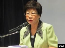 台湾前副总统吕秀莲(资料照片)