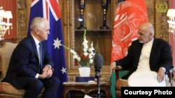 صدراعظم استرالیا روز دوشنبه در رأس هیأتی به کابل آمده بود
