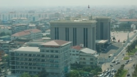The view of the Office of the Council of Ministers of Cambodia from the 20th floor of the Canadia Tower, Phnom Penh, Cambodia. (Courtesy Photo)