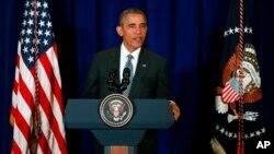 Президент США Барак Обама. Куала-Лумпур, Малайзия. 22 ноября 2015 г.