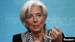 Kepala IMF, Christine Lagarde (foto: dok). IMF mengatakan bahwa inflasi global telah terkendali dan tidak menjadi ancaman pemulihan ekonomi.