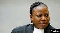 Fatou Bensouda, la procureure de la CPI, 18 décembre 2012.