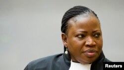 Fatou Bensouda, procureure de la La Cour pénale internationale (CPI), 18 décembre 2012.