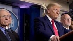 COVID-19 ေရာဂါစစ္ေဆးမႈ သမၼတ Trump နဲ႔ ထိပ္တန္းက်န္းမာေရးပညာရွင္ေတြၾကား ဘာေၾကာင့္ သေဘာကဲြလဲြေနသလဲ
