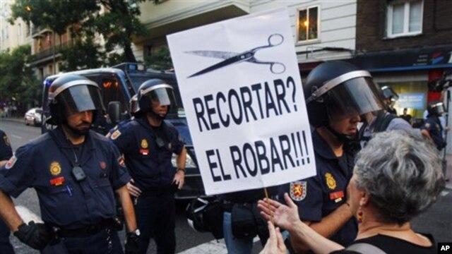 Protesti u Španiji