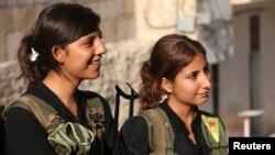 Şervanên jin yên YPG