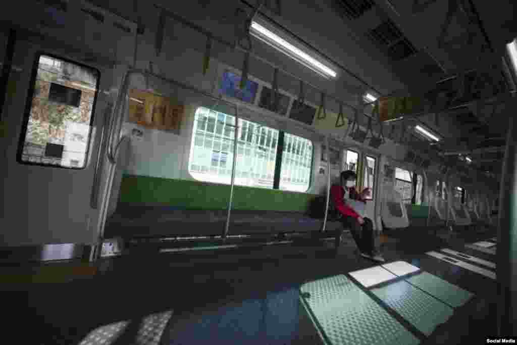 متروها در شهر مزدهم توکیوی جاپان