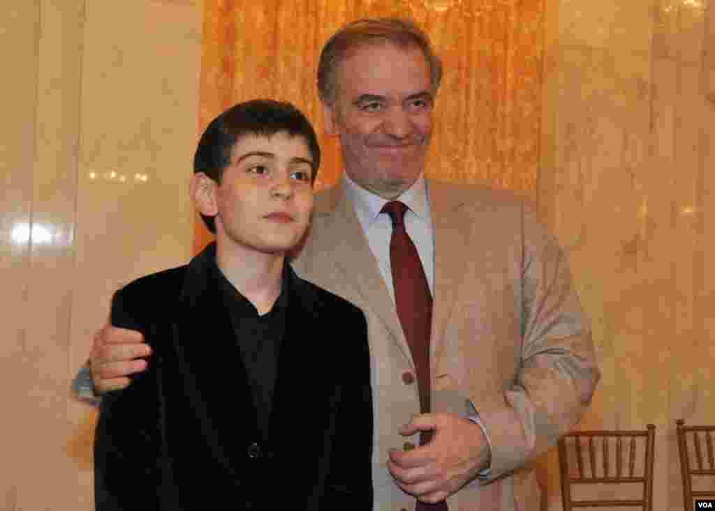 Валерий Гергиев с сыном