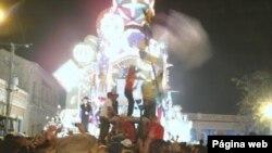 Las parrandas de Remedios, son una de las tradiciones decembrinas más importantes de Cuba, son llamadas también Fiestas de Barrio. Foto: cosasderemedios.blogspot.com.