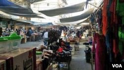 A local Market in Qamishli, Nov. 27, 2015. (Sirwan Kajjo/VOA)