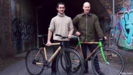 Biçikleta me skelet bambuje