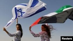 د اسرائیل او متحدو عربو اماراتو دپلوماتیکې اړیکې تېر کال پیل شوې