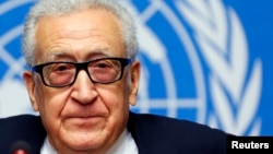Đặc sứ Liên hiệp quốc-Liên đoàn Ả Rập Lakhdar Brahimi.