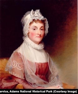 Abigail Adams, Portrait by Jane Stewart 1800-1812