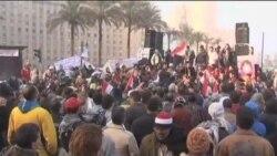 埃及民众纪念起义一周年