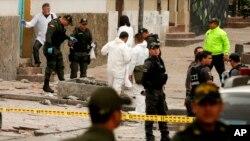 Autores del atentado habrían detonado aproximadamente dos kilos de explosivos.