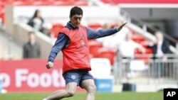 Gelandang Klub Manchester City, Gareth Barry (Foto: dok).