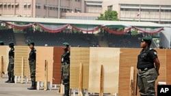 حکمران جماعت کی جانب سے صدارتی امیدوار کے لیے ووٹنگ کا ایک مرکز