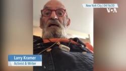 VOA Interview: AIDS Activist Larry Kramer