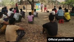 ရခိုင္ ဒုကၡသည္မ်ား။ (ဓာတ္ပံု - Rakhine Ethnics Congress)