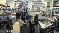 Предновогодний шоппинг в США