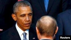ساعتی بعد از موضع گیری ولادیمیر پوتین، باراک اوباما پاسخ او را داد.