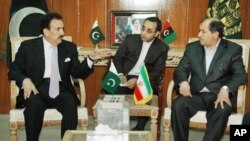 ایران اور پاکستان کے وزرائے داخلہ کی اسلام آباد میں ملاقات