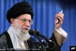 알리 하메네이 이란 최고지도자.