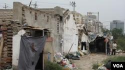 北京的一处上访村 (资料照片 美国之音张楠拍摄)