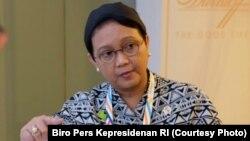 Menteri Luar Negeri RI Retno Marsudi. (Foto: dok.)