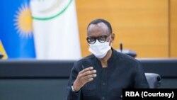 Prezida w'u Rwanda Paul Kagame