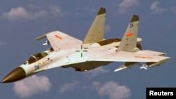 中國戰機飛越海南島以東(資料圖片)