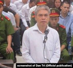 Ông Nguyễn Xuân Sơn, cựu TGĐ OceanBank, đối mặt án tử vì tội tham ô