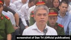 Ông Nguyễn Xuân Sơn, cựu TGĐ OceanBank, đối mặt án tử về tội tham ô, lạm dụng quyền hạn