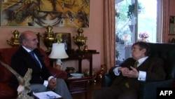 Lorens Iglberger u razgovoru sa Brankom Mikašinovićem