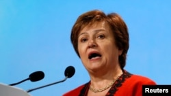 World Bank CEO Kristalina Georgieva, Dec. 3, 2018.