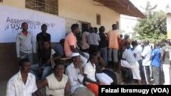 Eleitores em Nampula