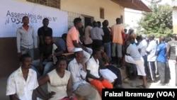 Votação em Nampula
