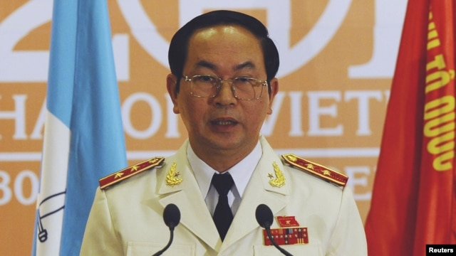 Bộ trưởng Công An Việt Nam Trần Đại Quang