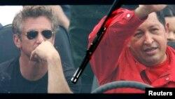 """En 2007, el actor estadounidense Sean Penn se fue """"de paseo"""" con Hugo Chávez en Venezuela."""