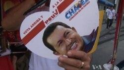 Venezuelan President Hugo Chavez Wins Re-Election Bid